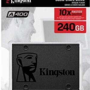Výměna stávajícího pevného disku počítače za nový SSD disk s kapacitou 240 GB značky Kingston