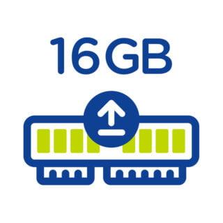 Rozšíření operační paměti počítače z 4 GB na 16 GB